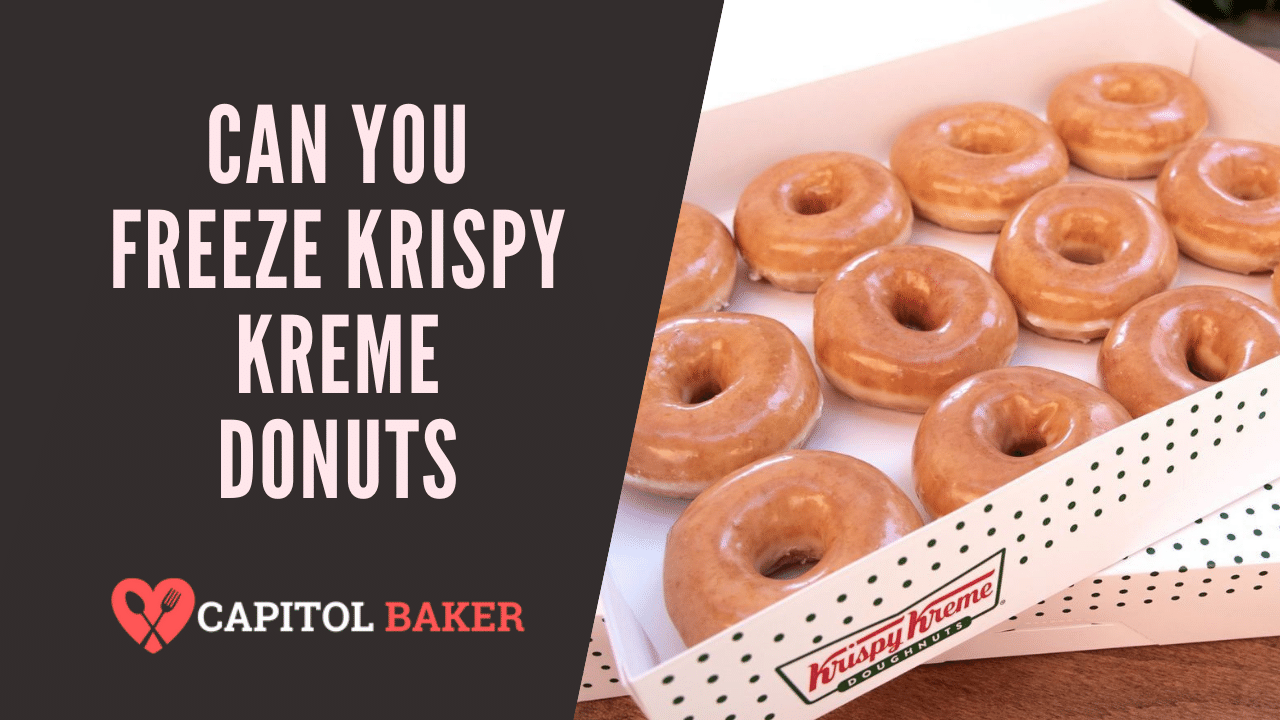 Can You Freeze Krispy Kreme Donuts? (Yes, Here's the Answer)