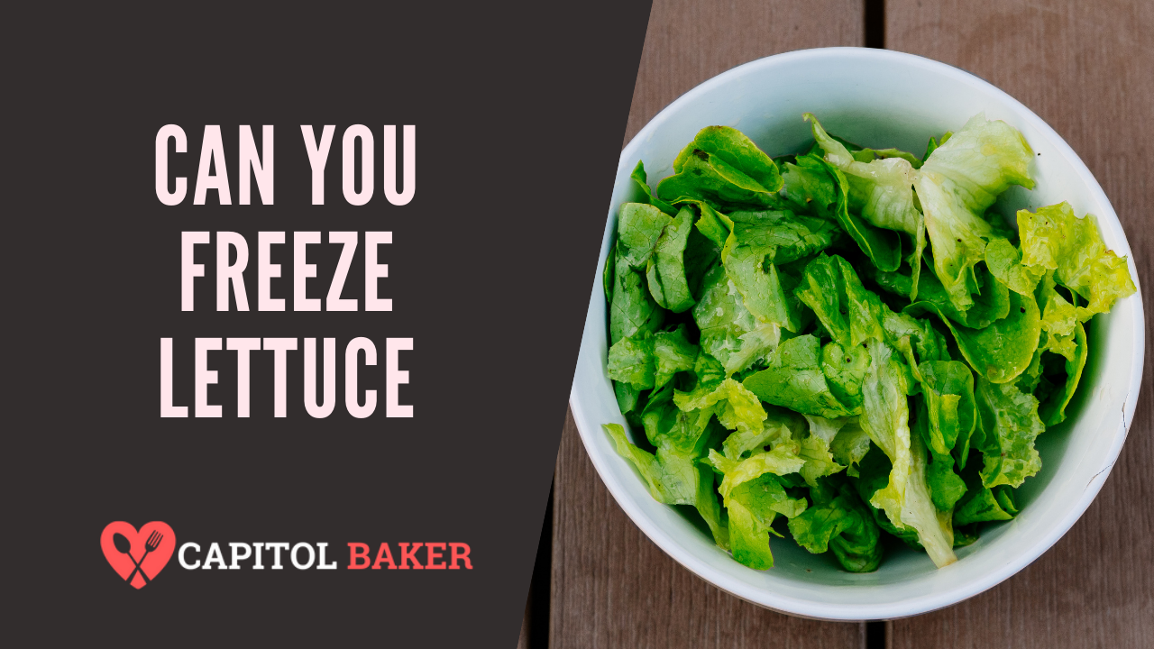 can you freeze lettuce
