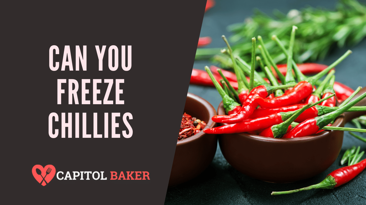 Can You Freeze CHILLIES
