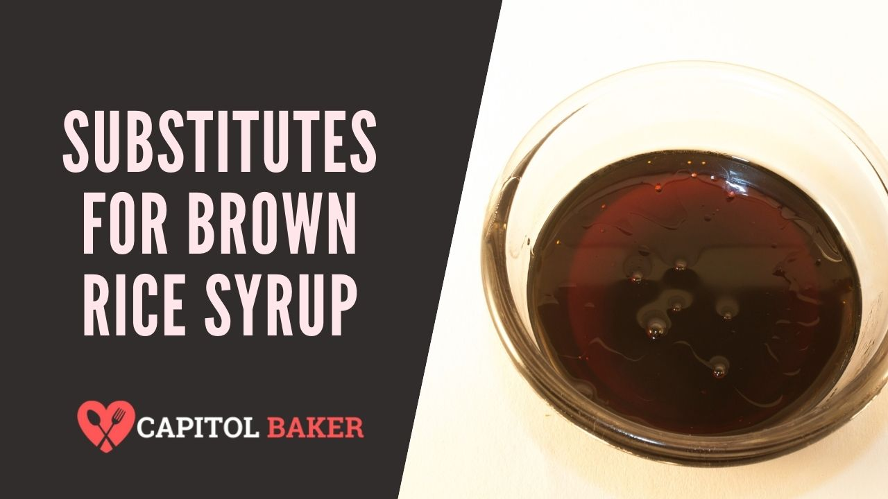 9 Best Substitutes for Brown Rice Syrup